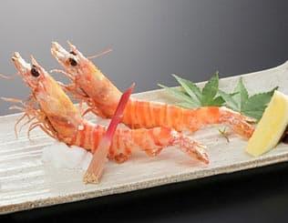 車海老料理 塩焼き